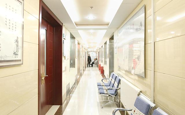北京军颐中医医院名医堂走廊